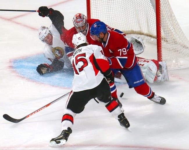 Montreal Canadiens vs. Ottawa Senators - 12/20/14 NHL Pick, Odds, and Prediction