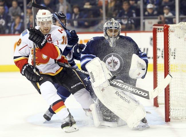 Winnipeg Jets vs. Calgary Flames Pick-Odds-Prediction - 10/19/14
