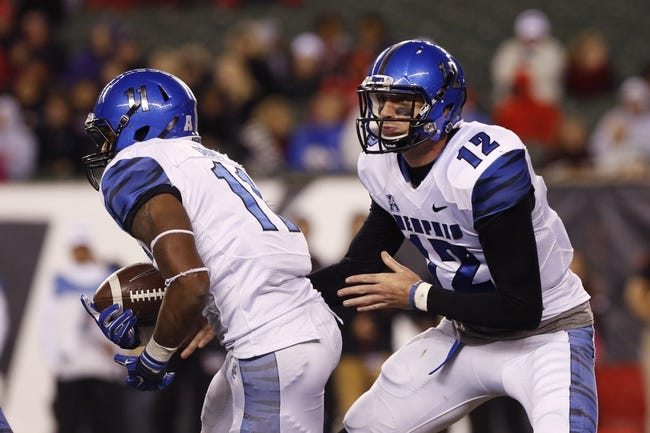 Memphis Tigers vs. Tulsa Golden Hurricane - 10/31/14 College Football Pick, Odds, and Prediction