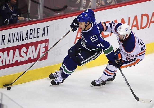 Vancouver Canucks vs. Edmonton Oilers - 10/11/14