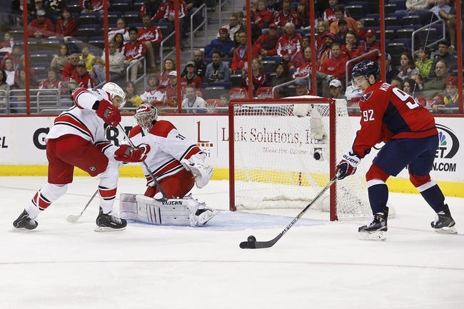 Capitals vs. Hurricanes - 11/8/14 NHL Pick, Odds, and Prediction