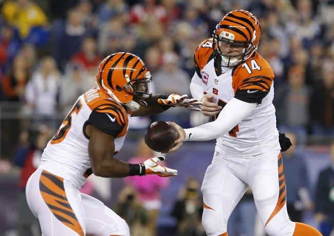 Carolina Panthers at Cincinnati Bengals - 10/12/14 NFL Pick, Odds, Prediction