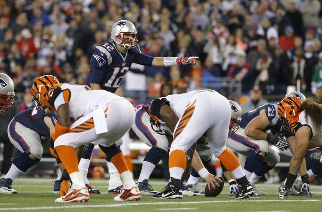 Cincinnati Bengals at New England Patriots 10/5/14 NFL Score, Recap, News and Notes