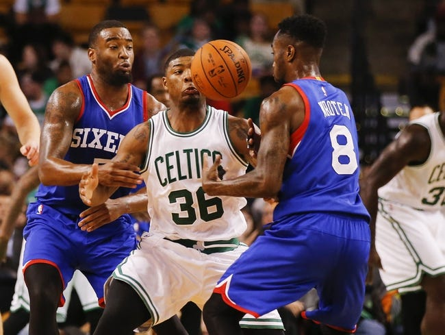 Philadelphia 76ers vs. Boston Celtics 10/16/14 NBA Preseason Pick, Odds, Prediction