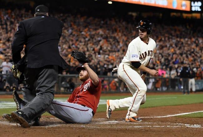 Washington Nationals vs. San Francisco Giants - 7/3/15 MLB Pick, Odds, and Prediction
