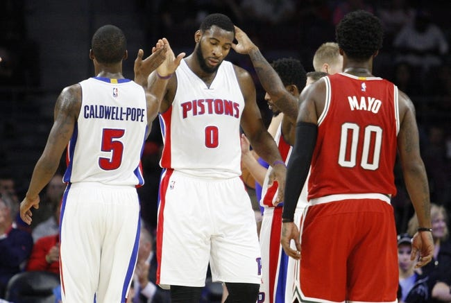 Detroit Pistons vs. Milwaukee Bucks - 11/7/14 NBA Pick, Odds, and Prediction