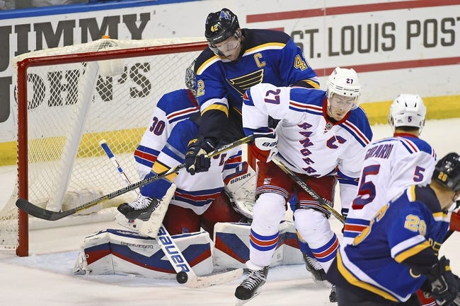 New York Rangers vs. St. Louis Blues - 11/3/14 NHL Pick, Odds, and Prediction