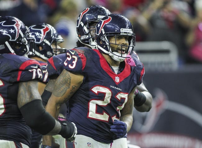 Fantasy Football 2014: Texans at Steelers 10/20/14 Week 7 Preview