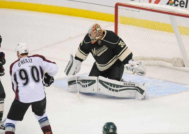 Colorado Avalanche vs. Minnesota Wild Pick-Odds-Prediction - 10/11/14