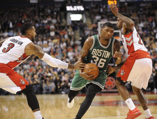 Raptors vs. Celtics - 10/15/14 NBA Preseason Pick, Odds, Prediction