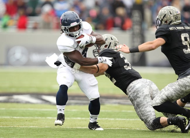 Rice Owls vs. Army Black Knights - 10/24/15 College Football Pick, Odds, and Prediction