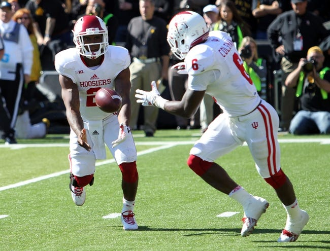 Indiana Hoosiers vs. Michigan State Spartans - 10/18/14 CFB Pick, Odds, Prediction