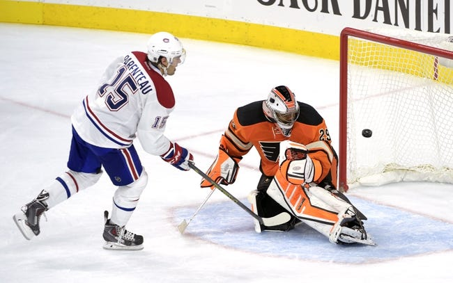 Canadiens vs. Flyers - 11/15/14 NHL Pick, Odds, and Prediction