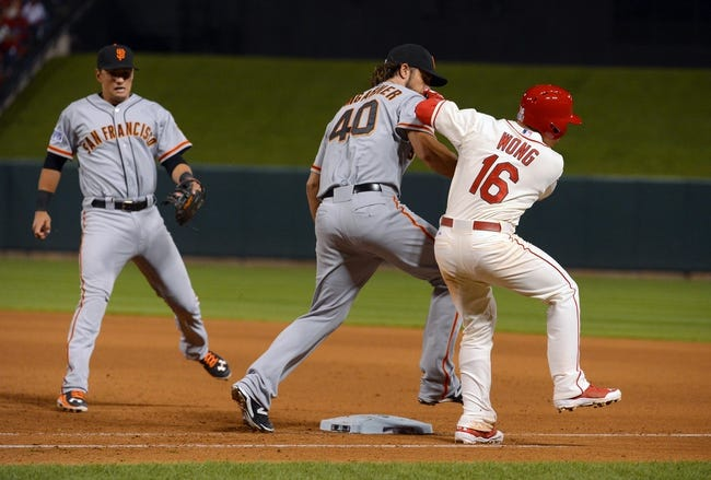 St. Louis Cardinals vs. San Francisco Giants Pick-Odds-Prediction - 10/12/14 NLCS Game Two