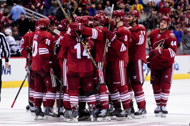 Arizona Coyotes vs. Los Angeles Kings - 12/4/14 NHL Pick, Odds, and Prediction