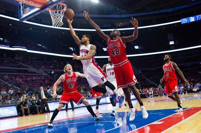 Bulls vs. Pistons - 11/10/14 NBA Pick, Odds, and Prediction