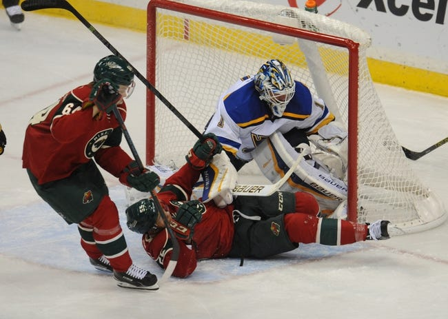 Minnesota Wild vs. St. Louis Blues - 11/29/14 NHL Pick, Odds, and Prediction