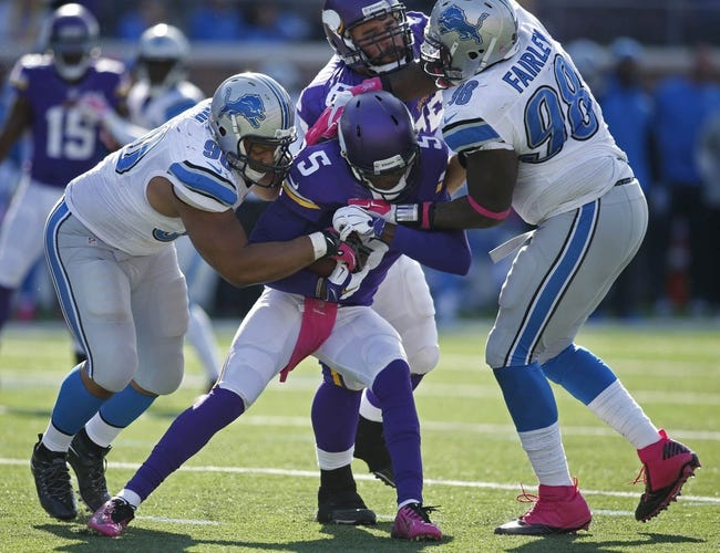 NFL | Minnesota Vikings (6-7) at Detroit Lions (9-4)