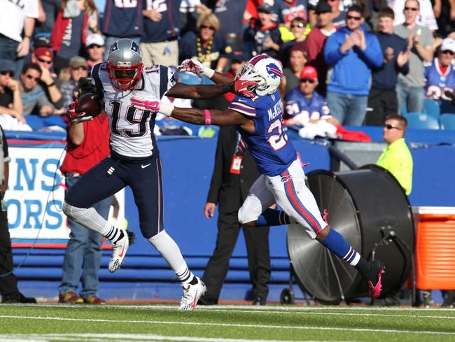 Patriots vs. Bills - 12/28/14 NFL Pick, Odds, and Prediction