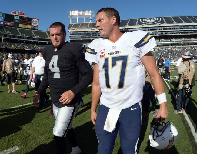 Chargers vs. Raiders - 10/25/15 NFL Pick, Odds, and Prediction
