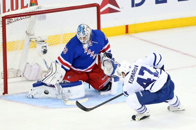 Toronto Maple Leafs vs. New York Rangers - 11/8/14 NHL Pick, Odds, and Prediction