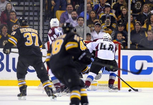 Colorado Avalanche vs. Boston Bruins - 1/21/15 NHL Pick, Odds, and Prediction