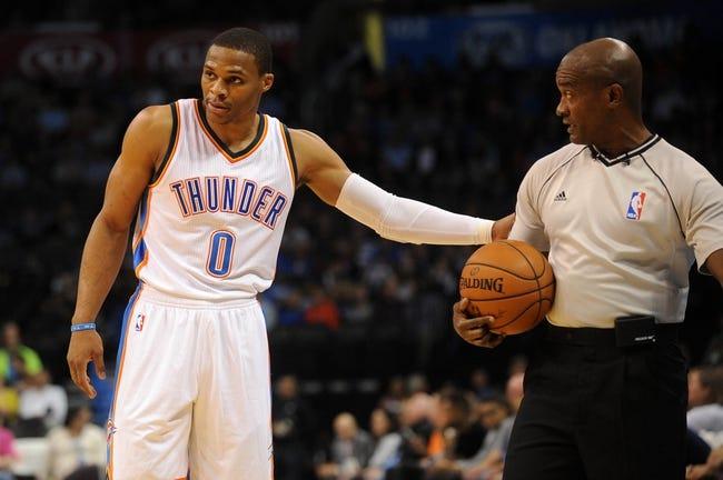 Oklahoma City Thunder vs. Minnesota Timberwolves 10/19/14 NBA Preseason Pick, Odds, Prediction