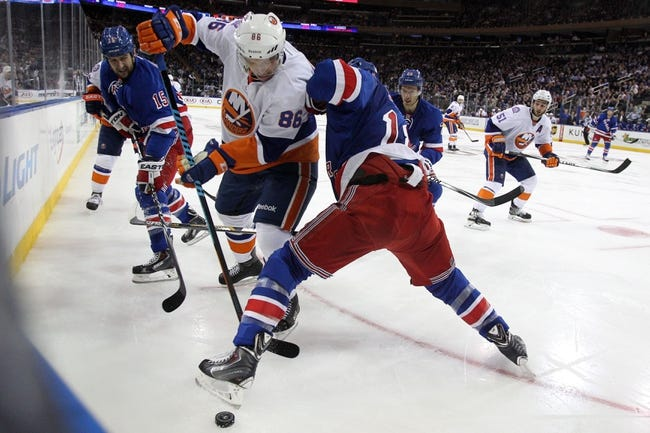 New York Rangers vs. New York Islanders - 1/13/15 NHL Pick, Odds, and Prediction