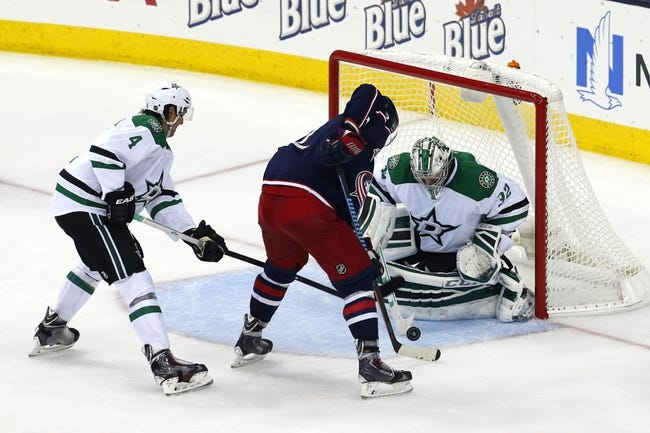 NHL | Columbus Blue Jackets (17-17-3) at Dallas Stars (18-14-6)