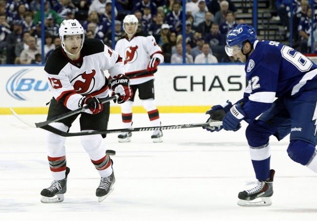 New Jersey Devils vs. Tampa Bay Lightning - 12/19/14 NHL Pick, Odds, and Prediction