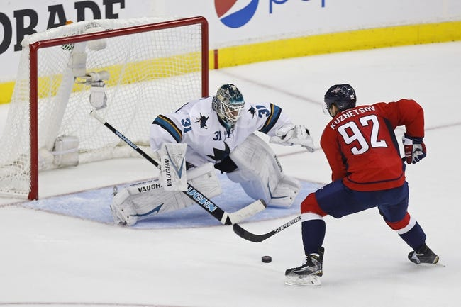 NHL | Washington Capitals (28-16-10) at San Jose Sharks (28-20-7)