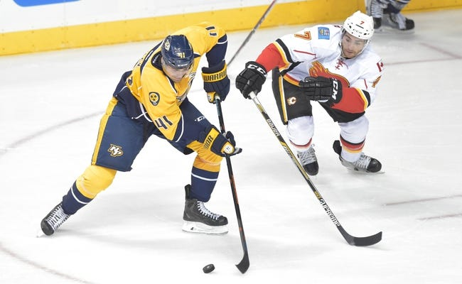 Calgary Flames vs. Nashville Predators - 10/31/14 NHL Pick, Odds, and Prediction