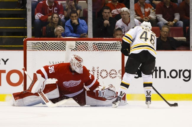Bruins vs. Red Wings - 12/29/14 NHL Pick, Odds, and Prediction