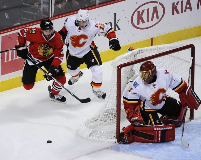 Calgary Flames vs. Chicago Blackhawks - 11/20/14 NHL Pick, Odds, and Prediction