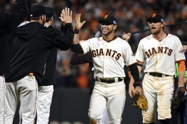 St. Louis Cardinals at San Francisco Giants - 10/16/14 NLCS Pick, Odds, Prediction