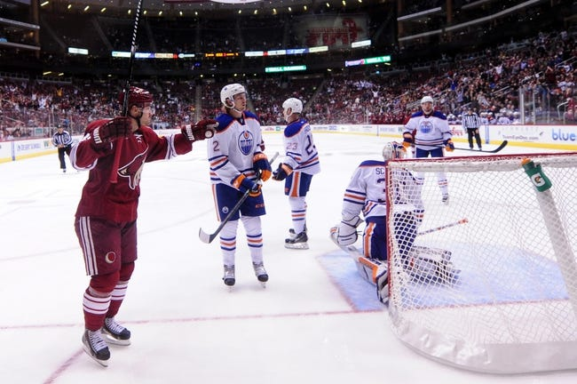 Edmonton Oilers vs. Arizona Coyotes - 11/16/14 NHL Pick, Odds, and Prediction