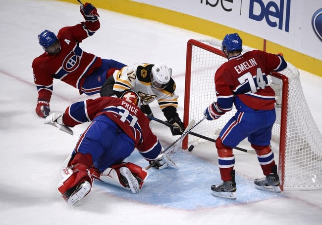 Montreal Canadiens vs. Boston Bruins - 11/13/14 NHL Pick, Odds, and Prediction
