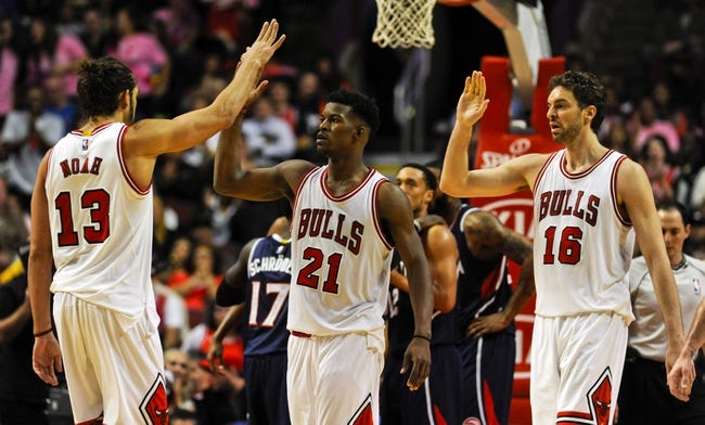 Hawks vs. Bulls - 12/15/14 NBA Pick, Odds, and Prediction