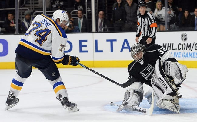 St. Louis Blues vs. Los Angeles Kings - 12/16/14 NHL Pick, Odds, and Prediction