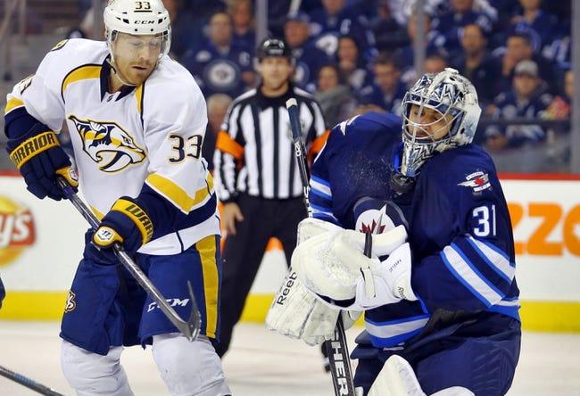 Winnipeg Jets vs. Nashville Predators - 11/4/14 NHL Pick, Odds, and Prediction