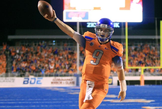 Boise State Broncos vs. Utah State Aggies - 11/29/14 College Football Pick, Odds, and Prediction