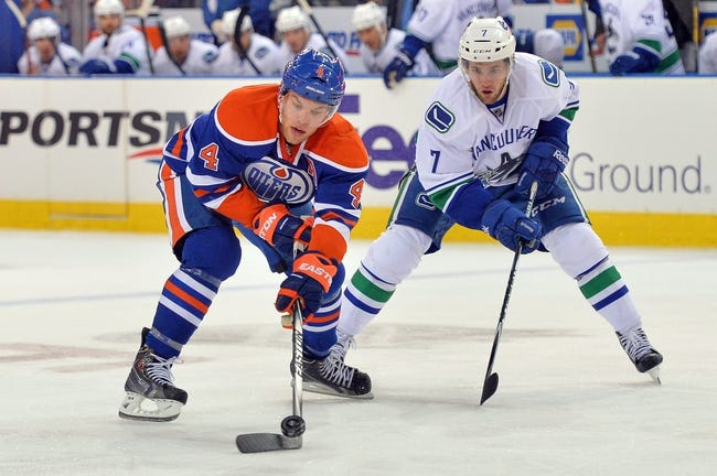NHL | Vancouver Canucks (7-3-0) at Edmonton Oilers (4-5-1)