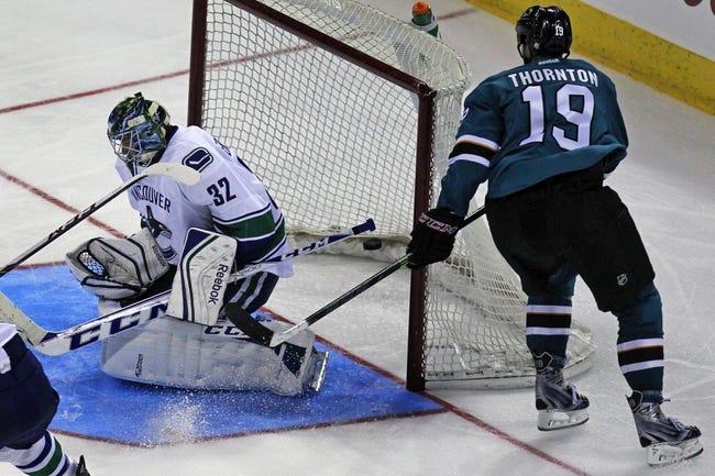 San Jose Sharks vs. Vancouver Canucks - 11/6/14 NHL Pick, Odds, and Prediction