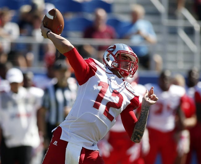 Western Kentucky Hilltoppers vs. Texas El Paso Miners - 11/8/14 College Football Pick, Odds, and Prediction