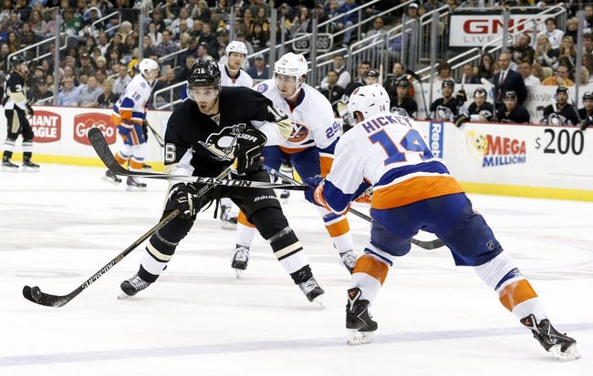 Pittsburgh Penguins vs. New York Islanders - 11/21/14 NHL Pick, Odds, and Prediction