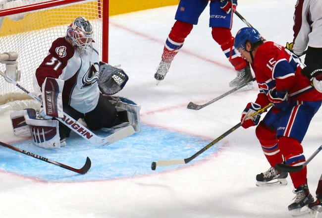 Colorado Avalanche vs. Montreal Canadiens - 12/1/14 NHL Pick, Odds, and Prediction