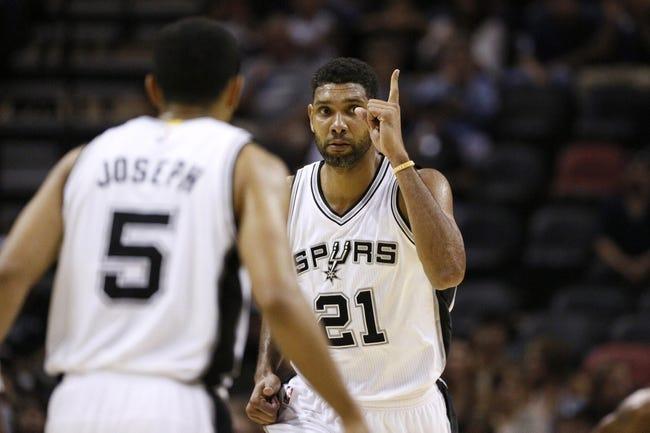 San Antonio Spurs  vs. Sacramento Kings 10/20/14 NBA Preseason Pick, Odds, and Prediction