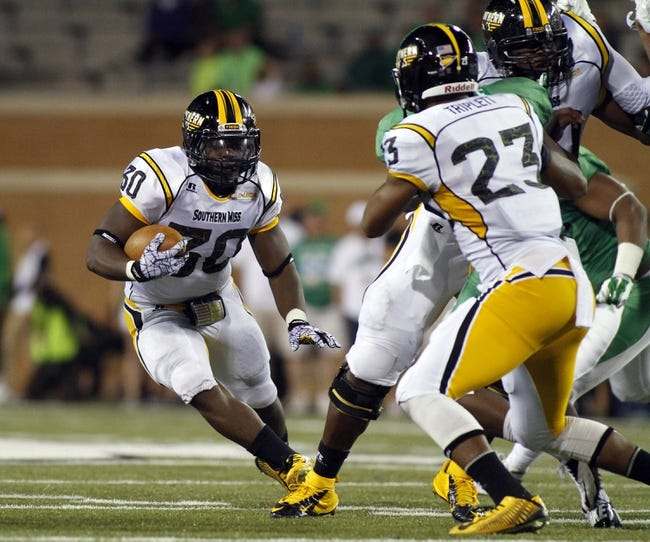 UTSA Roadrunners vs. Southern Miss Golden Eagles - 11/13/14 College Football Pick, Odds, and Prediction