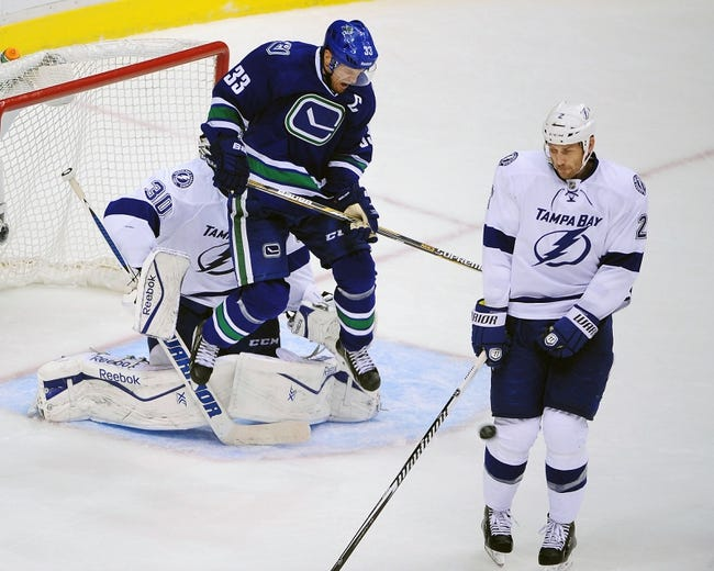 Tampa Bay Lightning vs. Vancouver Canucks - 1/20/15 NHL Pick, Odds, and Prediction
