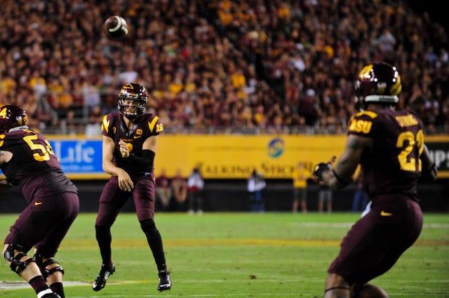 Arizona State vs. Washington State - 11/22/14 College Football Pick, Odds, and Prediction